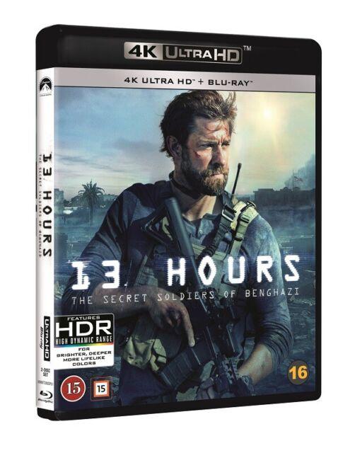13 Hours The Secret Soldiers of Benghazi 4K UHD + Blu Ray ...