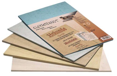 Elefantenhaut DIN A4 110 g//qm Urkundenpapier verschiedene Farben und Anzahl