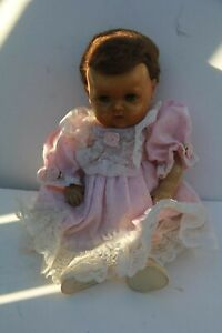 VINTAGE-AMERICAN-CHARACTER-DOLL-AS-IS-BABY-Tiny-Tears