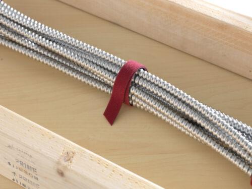 "1/"" in 2 colors Velcro® One Wrap® Fire Retardant Nylon Strap Hook Loop 5//8/"""