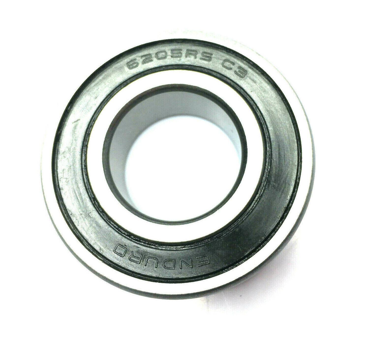 8 Sealed Radial Ball Bearing 6205RS 25x52x15