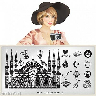 MoYou London TOURIST 18 Collection Stamping Schablone Istanbul