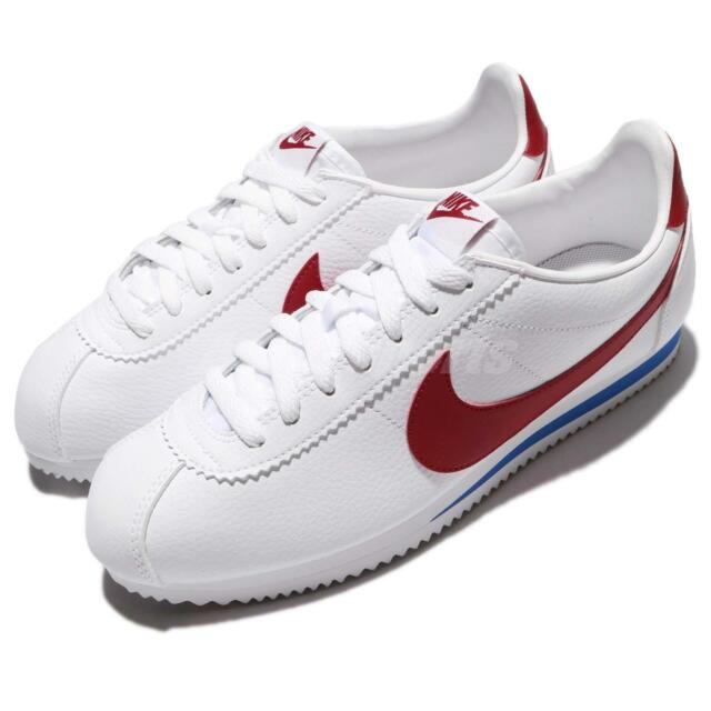 various styles cheap for discount united states Nike Classic Cortez Leather Sz 11.5 100 Authentic Forrest Gump Retro 749571  154