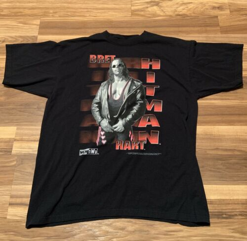 "Vintage 1998 WCW/NWO Bret ""The Hitman"" Hart t-Shir"