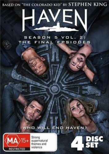 1 of 1 - Haven : Season 5 : Part 2 (DVD, 2016, 4-Disc Set)