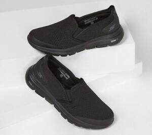 Homme Extra Coupe Large Gowalk 5 Apprize Ultra Go Max Course / Marche Shoes Noir