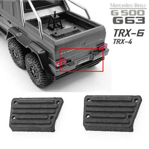 1Pair Bumper Pedal for Traxxas TRX-4 TRX-6 Benz 4X4 6X6 G63 G500 RC Car Truck