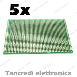 5x-BASETTA-MILLEFORI-MILLE-FORI-IN-VETRONITE-80X120-DOPPIO-LATO-PIASTRA-FORATA