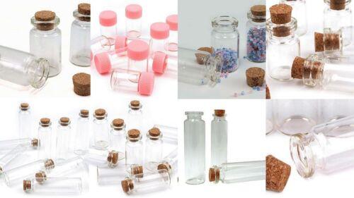20er vidrio-vial de retención mini-botellas corcho