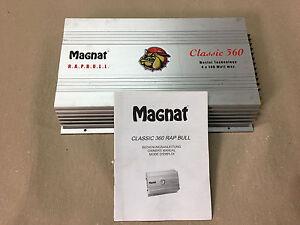 Magnat Classic 360 Gladiator Endstufe Amplifier Verstärker 4 Channel Amplifier - Kircheib, Deutschland - Magnat Classic 360 Gladiator Endstufe Amplifier Verstärker 4 Channel Amplifier - Kircheib, Deutschland
