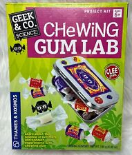 Science Chewing Gum Lab Candy Science Kit by Geek /& Co Geek /& Co Science!