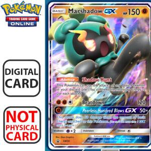Regular Art Marshadow GX DIGITAL ptcgo in Game Card for Pokemon TCG Online