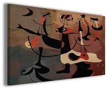Quadri famosi Joan Mirò vol XVIII Stampa su tela arredo moderno arte design