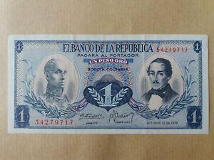 Elbanco-De-La-Republica-Banknote-1-Peso-1970-aUNC-54279717