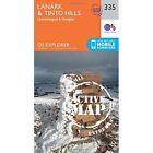 Lanark and Tinto Hills by Ordnance Survey (Sheet map, folded, 2015)
