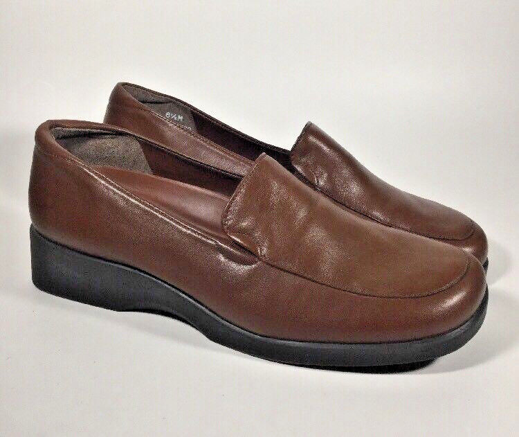 M3122 New Women's Naturalizer Ultimate Cognac Loafer US 6.5 M