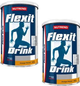 NUTREND-FLEXIT-Drink-2-x-400g-Powder-JOINTS-amp-BONES-SUPPORT-COLLAGEN-4-FLAVOURS