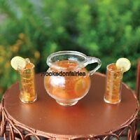 Miniature Itsy Bitsy - Ice Tea Set 16558 Fairy Garden Dollhouse Terrarium