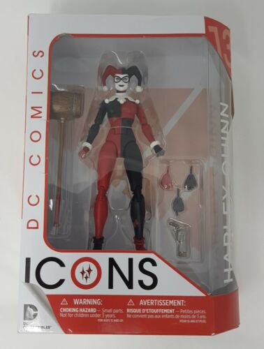 DC Comics Icons Harley Quinn NO MAN/'S LAND Action Figure