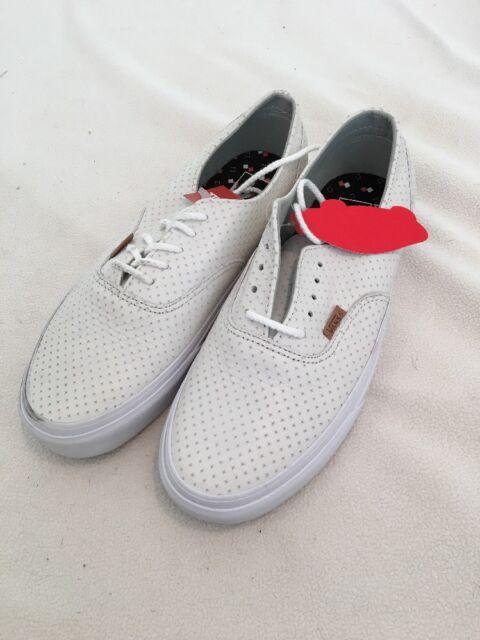 587109c5bdfc6a Vans Era Decon Leather Emboss Blanc de Blanc (Men s 9) (Women s ...