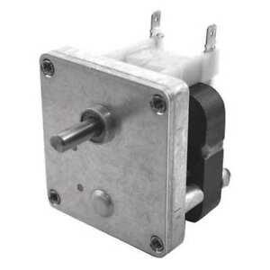DAYTON 52JE31 AC Gearmotor,Nameplate RPM 35,0.50A,115V G6618020