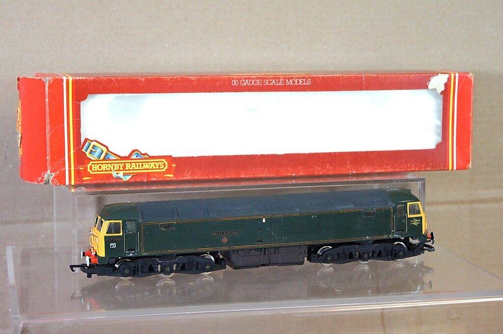 Hornby R319 Set Gebaut Br Grün Klasse 47 Diesel Lokomotive 47500 Great Western