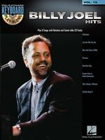Billy Joel Hits Sheet Music Keyboard Play-along Book And Cd 000700303