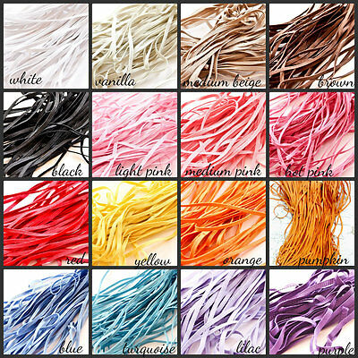5 yards of 1/8 inch Skinny Elastic for Making Baby Headbands, Sewing, Etc.