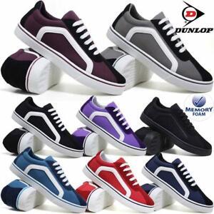 Ladies Dunlop Memory Foam Shoes Canvas