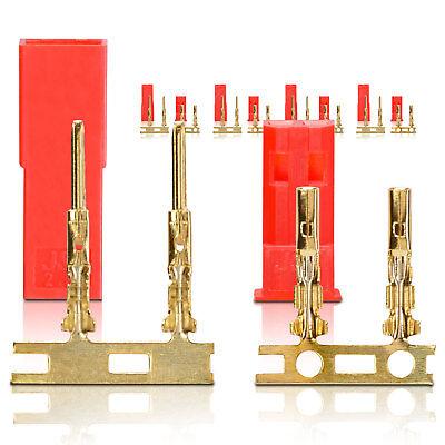Apprensivo Bec Jst Connettore Spina Presa Contatto Oro 5 Paia Partcore 100192