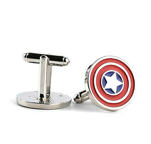 Marvel-Comics-Captain-America-Cufflinks