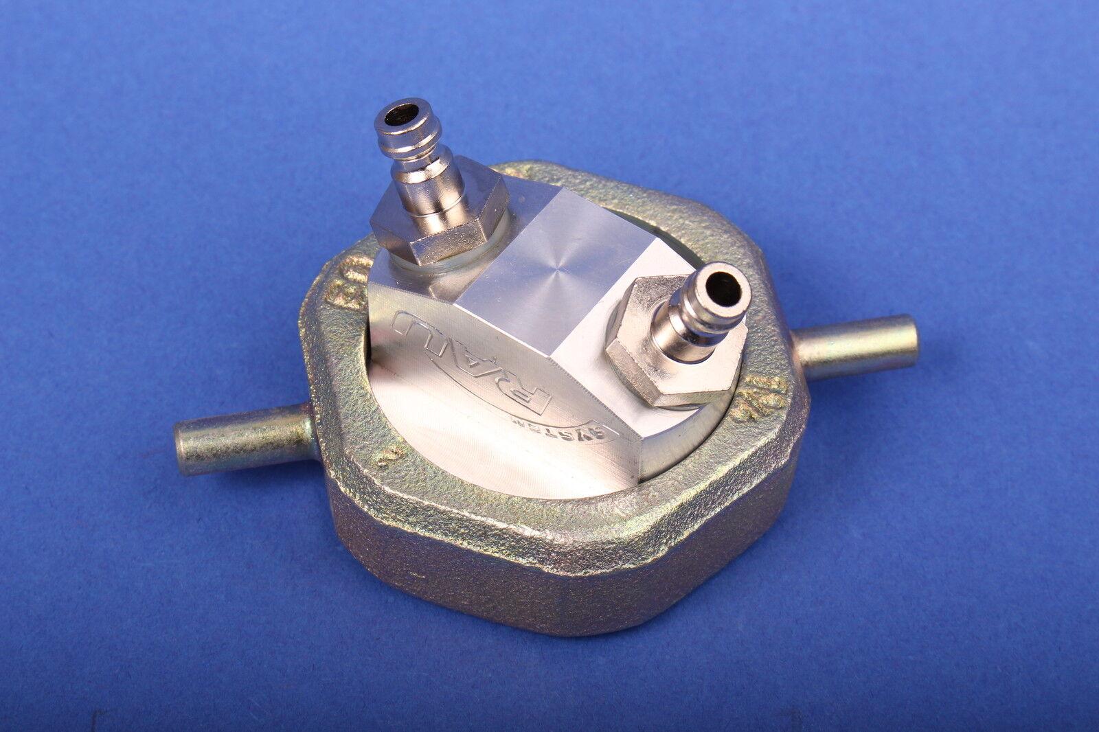 Rau Einrohrzählerkappe LM02 LM03 LM06 Gasleitungsprüfgerät Dichtprüfgerät