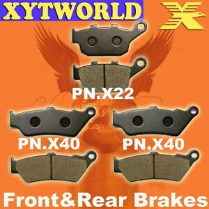 Front Rear Brake Pads Honda NT650 NT 650 V Deauville