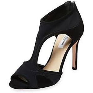 L-K-Bennett-Women-039-s-Anthea-Cutout-Zipper-Sandals-Pumps-Black-Sz-41-NWOB-395