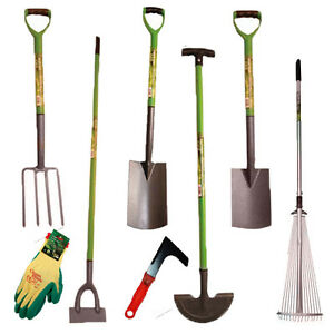 New high quality digging garden spade shovel fork hoe for Garden tools best quality