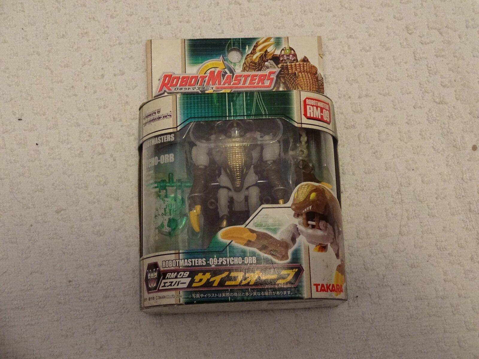 Transformers Robotmasters RM-09 Psycho-Orb Figure Takara New Free Shipping