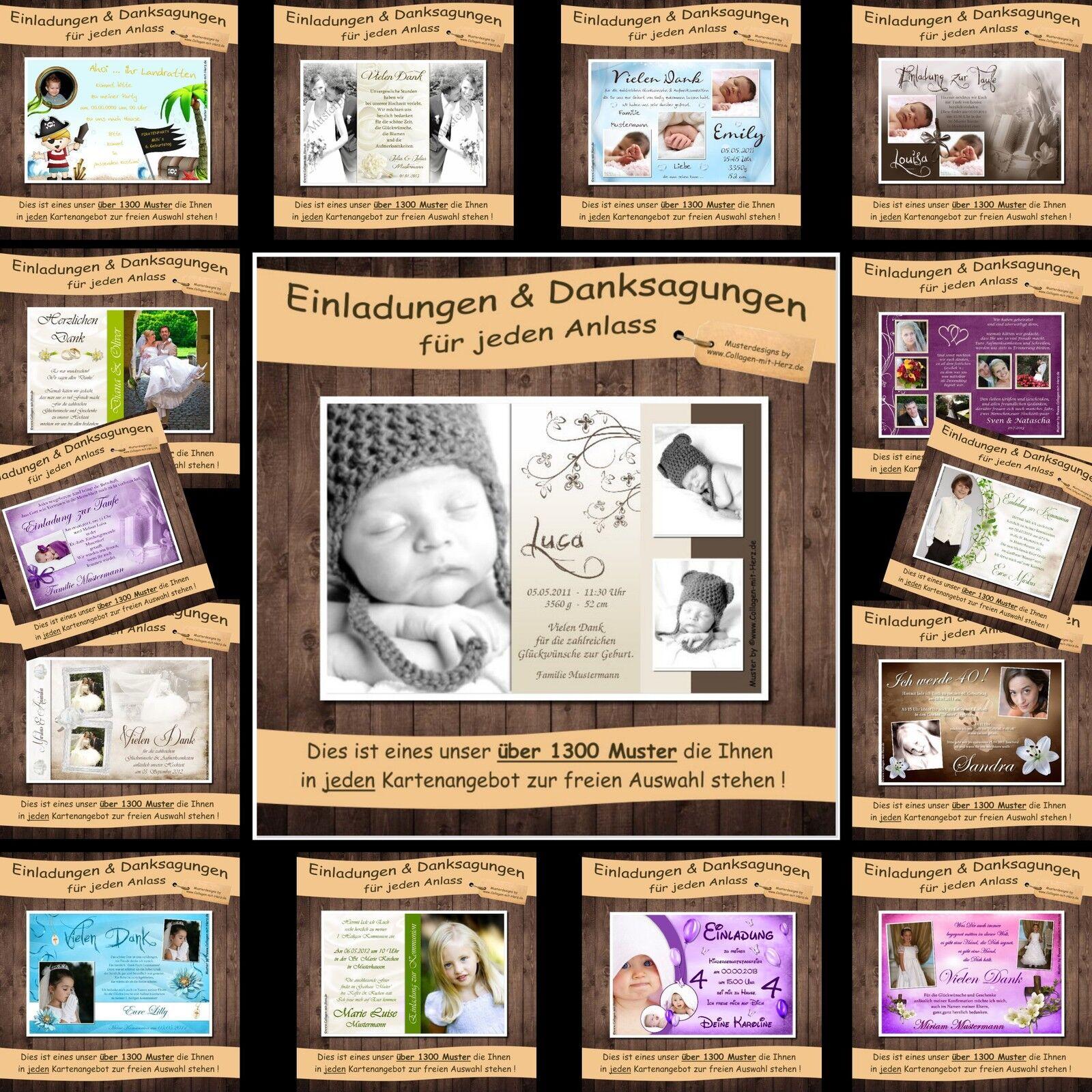 FOTO Einladungen Danksagungen   Einladungskarten Danksagungeskarten - Kommunion   | Grüne, neue Technologie  | Überlegen