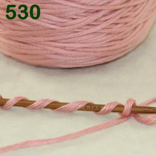 Sale New 1Cone 400g Soft Worsted Cotton Chunky Super Bulky Hand Knitting Yarn 30