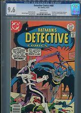 Detective Comics #468  (Calculator app)  CGC 9.6  WP