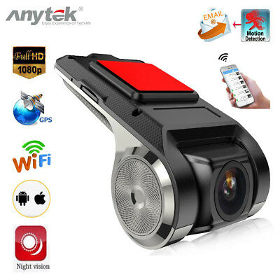 Anytek X28 1080 P FHD Auto DVR Kamera Video Recorder WiFi ADAS G-sensor Dash Cam