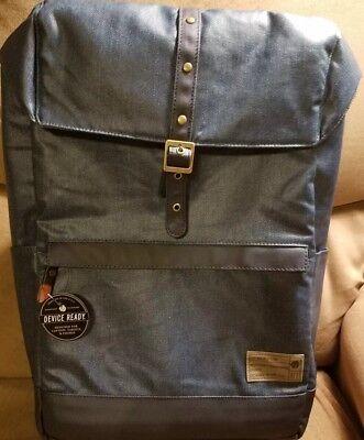 f1b6b1633d3d New NWT HEX Alliance Backpack (Coated Denim) Device Ready. Designed in USA.  766288197268 | eBay