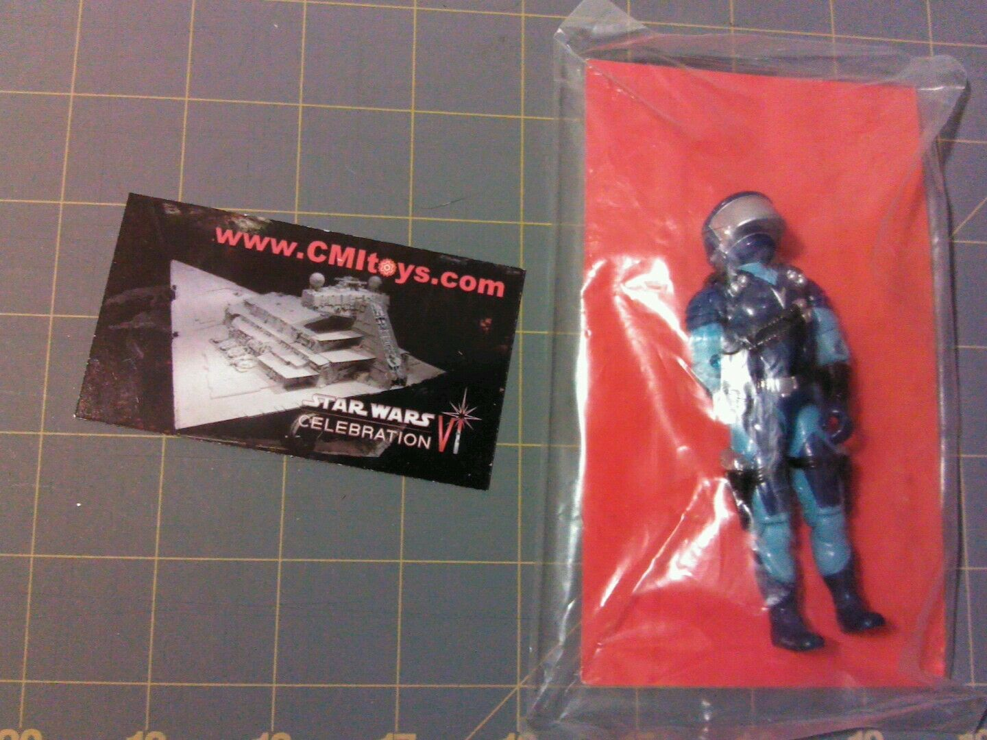 GI Joe figure mail mail mail order exclusive & red file card MOTOR VIPER Cobra STUN driver d683f5
