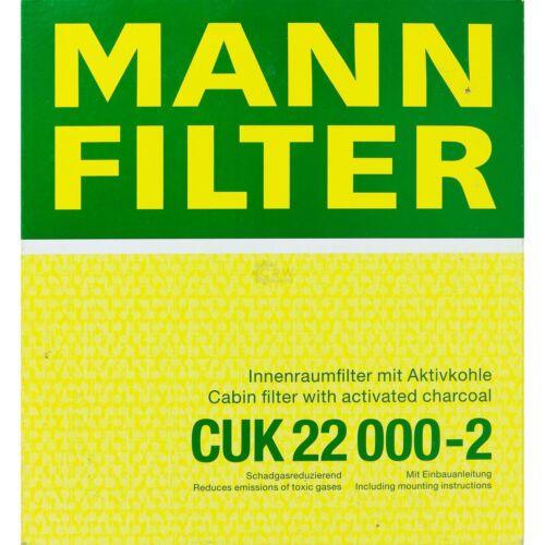 Mann-Filter paquete Mercedes-Benz clase S Coupé c215 cl 55 AMG 500