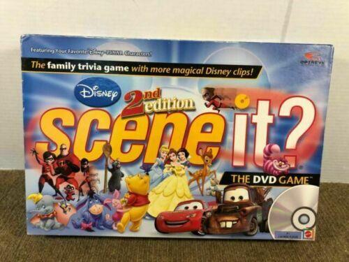 Mattel 45045 2nd Edition Disney Scene It Dvd Game For Sale Online Ebay