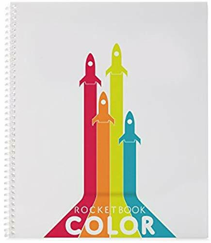 Reutilisable Cahier intelligent Rocketbook Color Cahier de dessin...
