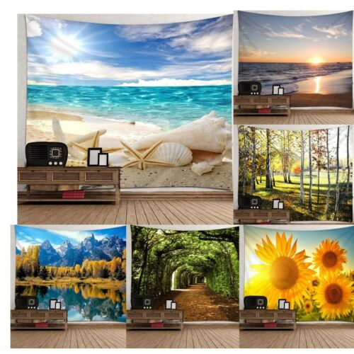 Art Nature Hanging Wall Tapestry Throw Bedspread Home Dorm Decor Backdrop