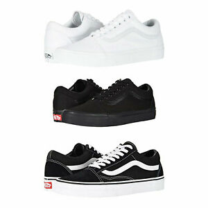 Vans-Old-Skool-Skateboard-Classic-Black-White-Mens-Womens-Sneakers-Tennis-Shoes