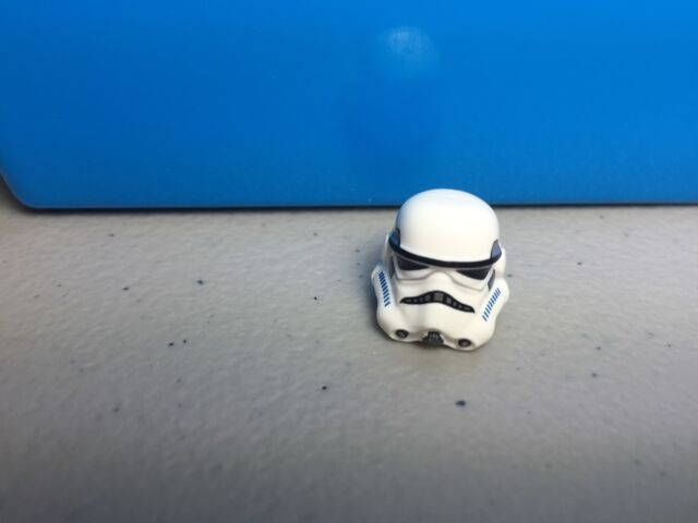 LEGO STAR WARS MINIFIGURE STORMTROOPER PRINTED LEGS SAND BLUE RARE 75055 75060