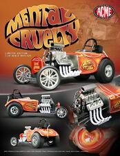 ACME DIECAST METAL 1:18 SCALE MENTAL CURELTY AUSTIN BANTAM ALTERED DRAG CAR