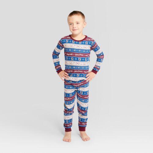 Youth Kids Boys//Girls Winter Holiday Harry Potter 2 Piece LS Family Pajama Set